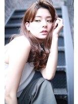 ロジッタ(ROJITHA)【ROJITHA】 スモーキーベージュ×ルーズカール