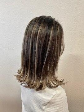 ヘアハウス ルアナ(Hair House Luana by NYNY)コントラストハイライト