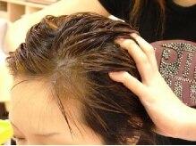 ビューティーサロン アオラキ(Beauty Salon AORAKI)の雰囲気(クリームバスヘッドマッサージはエイジングケアに最適♪)