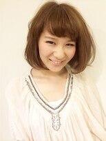 ヘアーデザイン スロープ 稲毛海岸店(Hair Design Slope)ゆるふわボブスタイル