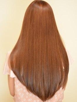 クレス 本川越店の写真/面倒なブローなしでも自然な内巻きストレートに!まるで子供の頃のようなサラサラストレートに髪質改善!