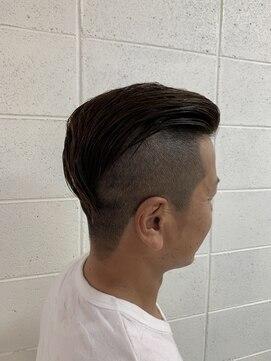 ヘア デザイン リブレ(Hair Design Libre)簡単セット ラグジュアリーお兄系スタイル