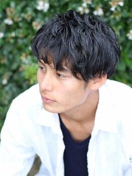 アジーオ(agio)の写真/キレイ過ぎない自然な仕上がり☆1人1人の髪質やクセを活かした、扱いやすく再現性の高いスタイルに!