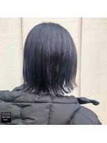ヘアメイクミワ(HAIR+MAKE MIWA)sapphire gray