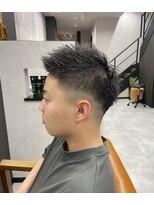 漢のフェードスタイル
