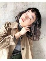 【SiSTA】 原博人 大人かわいい 小顔 セミロング パーマ