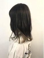 ヘアメイク オブジェ(hair make objet)ホワイトグレージュ スペシャルインナーカラー*** KAI