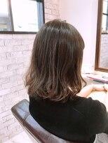 ルルカ ヘアサロン(LuLuca Hair Salon)LuLucaお客様☆スナップ ブルーベージュカラー