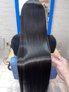 スローライフヘアーデザインアンドスパラウンジ(Slow life Hair design spa lounge)の写真/全国で30店舗限定♪ミネコラ取扱サロンの中でも最優良【ミネコラコンプリート30】に認定♪