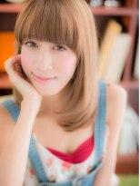 *+COVER HAIR+*…【厚めバング】が旬☆ワンカールストレートa