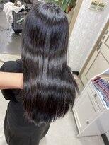 髪質改善トリートメント&髪質改善カット
