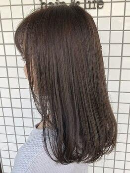 ヘアーアンドライフ ドア(hair&life Door)の写真/まだ全国でも取り扱いが少ない髪を強くする最新TR【N.ケラリファイン】導入!思わず触りたくなる髪質に♪