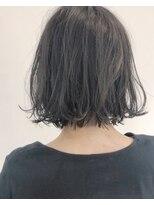 ビジョンアオヤマ (VISION aoyama)darkグレーアッシュ/ニュアンスボブ