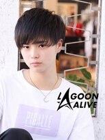 LAGOON ALIVE 亀田一磨 ☆すけバングショート☆