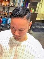 オムヘアーツー (HOMME HAIR 2)#コームオーバー #外国人風カット#barberstyle#hommehair2nd櫻井