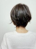 ラトリエコンタン(L´atelier Content)【LatelierContent yumi】ゆるっとラフな大人ショート