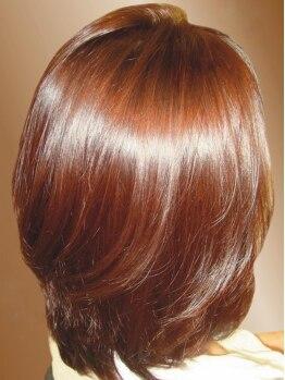 オプスヘアー 北浦和(OPS HAIR)の写真/一週間Homeケア付【カット+Organicハーブカラー¥7850】《自然の力》《クリスタルwater》で美しい髪色に♪