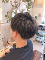 リリー ヘアーデザイン(Lilly hair design)【勝田台駅Lilly昼間】似合わせメンズマッシュ
