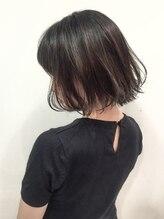 ヘアーアンドメイク ビス(HAIR&MAKE bis)【hair&make bis】吉岡俊 大人可愛い イルミナ切りっぱなしボブ