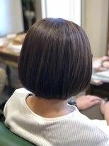 ブラン(Blanc)★髪質改善★ひし形ボブ×ミントアッシュ