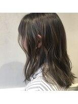 フェン ヘアーアイス(Fen.hair ici)暗髪透明感カラー
