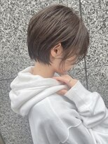 Lond島田敬之 大人美人ショートボブ/黒髪/毛先パーマ