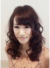 ヘアメイク ケイ(hair make KEI)ふんわりガーリーウェーブ