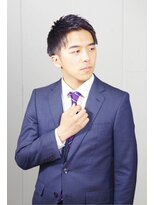 銀座マツナガ 箱崎店(GINZA MATSUNAGA)【マツナガ箱崎】アップバング ショート ビジネスマン