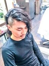 オムヘアーツー (HOMME HAIR 2)#メンズロング#グランジ#スパイラルパーマ.Hommehair2nd櫻井