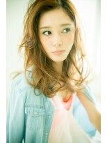 ミンクス ハラジュク(MINX harajuku)藤井リナ風髪型 潮風になびくリラックス感漂う リゾートロング