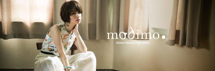 モディモ(modimo)のサロンヘッダー