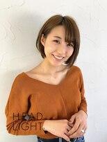 アーサス ヘア デザイン 国立店 (Ursus hair Design by HEAD LIGHT)*Ursus* 大人かわいい丸みショート