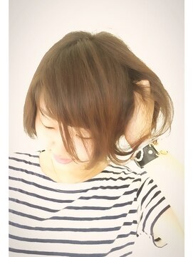 ブレッザヘアー(Brezza hair)大人可愛いショートボブ×Brezza hair 笹塚