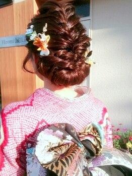 ヒロミライフ 昭和町店(Hiromi Life)の写真/長崎で数少ない≪上級着付け師≫在籍★プロの技で着崩れせず着心地抜群!2021年成人式のご予約はお早めに◎