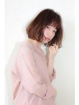ヘアメイク シュシュ(Hair make chou chou)ウェーブボブ【chou-chou 北林夏実】
