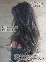 アッシュタカサキ(ash takasaki)外国人風♪ゆるふわウェーブ×透明感3Dカラー