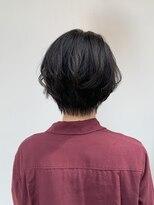 ヘアー アイス カンナ(HAIR ICI Canna)襟足スッキリ!!メリハリコンパクトショート!
