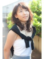 リバティーエイチ 勝どき店(LIBERTY-H)主婦ママ人気☆短め前髪上品ヘア