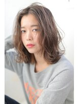 ジーナシンジュク(Zina SHINJYUKU)☆Zina☆3Dカラーで外国人風セミウエットロブ♪♪