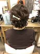 ヘアセットサロン アトリエ チャイ(Hair set salon atelier CHAI)アップスタイル