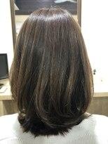 ミディアム [髪質改善/小田原]トリートメント×縮毛矯正