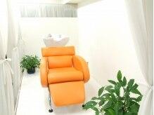 アトリエパッション(atelier Passion)の雰囲気(オレンジのシャンプー台が可愛い♪)