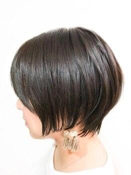 ヘアーメイク ミューズ 二条店(Hair make MUSE)の写真/不器用さんでも簡単にスタイリング◎MUSEの「乾かすだけでキマるカット」で毎朝時短でなりたいスタイルに♪