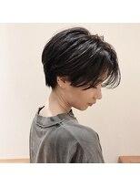 【komorebi】クールな黒髪大人ショート
