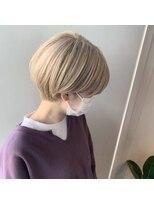 カイル (KAIL)【仙台東口KAIL】 ハンサムショート ひし形 前髪あり