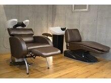 ツリーヘアサロン(Tree Hair Salon)の雰囲気(フルフラットのシャンプー台でのアロマヘッドスパも大好評♪)