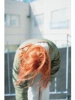 サイ(sai)【sai】orange pink wolf