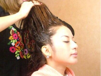 ヘアーアンドヒール アーモンド(Hair&Heal ALMOND)の写真