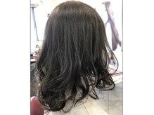 エンクス ヘアデザイン(enks hair design)の雰囲気(電子トリートメントでツヤツヤなカラーリング*)
