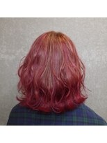 mid Bob × violet pink G.